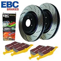 Тормозные диски и колодки EBC, роторы EBC