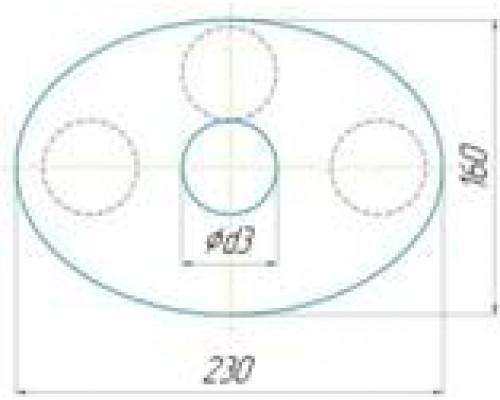 Глушитель CSM38041543 тихий до V2.2L