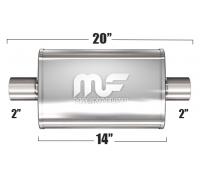 Глушитель универсальный Magnaflow 11114 Матовый 3.5in.x7in. Oval