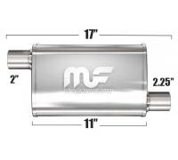 Глушитель универсальный Magnaflow 11132 Матовый 3.5in.x7in. Oval