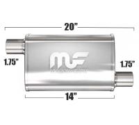 Глушитель универсальный Magnaflow 11133 Матовый 3.5in.x7in. Oval