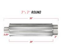 Глушитель универсальный Magnaflow 13760 XL 7in. Round