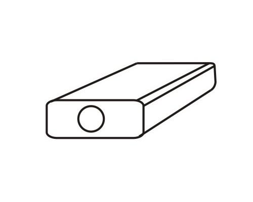 Глушитель универсальный MG-Race U24L38052 с камерой