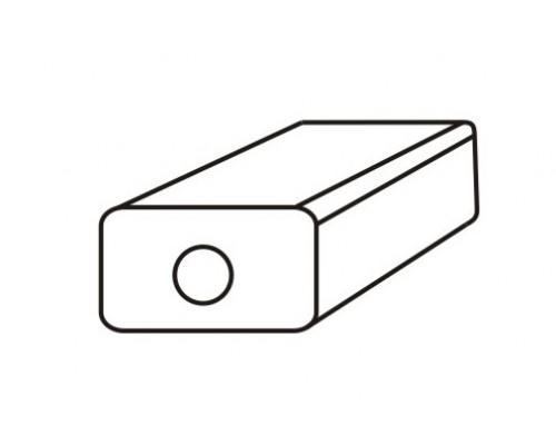 Глушитель универсальный MG-Race U25H30045 прямоточный