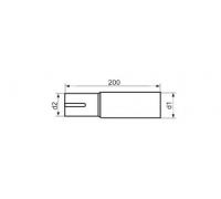 Адаптер одиночный EML63d2 63мм диаметр d2